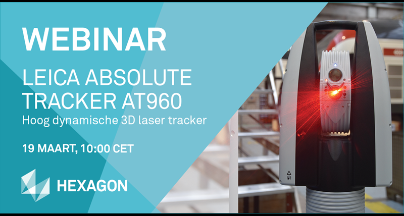 Webinar in Dutch about LASER TRACKER AT960