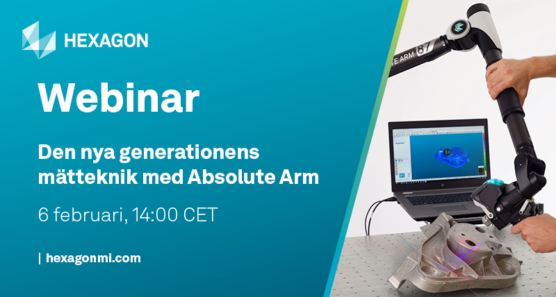 Swedish webinar about Absolute Arm