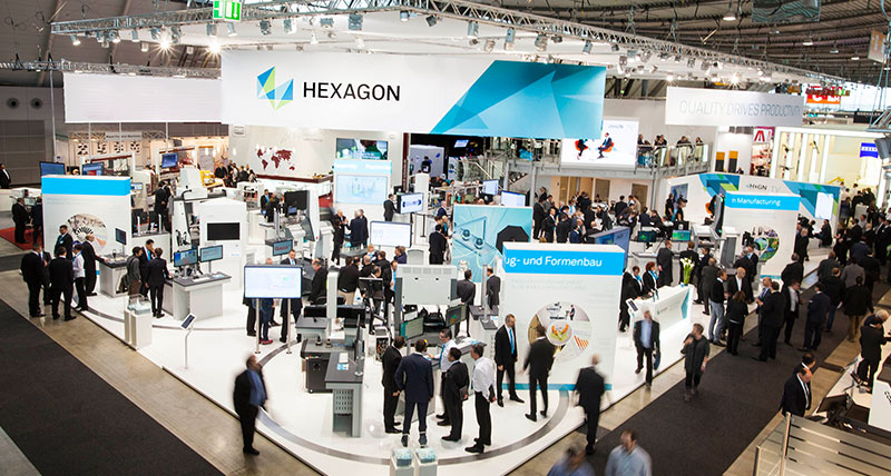 Hexagon Manufacturing Intelligence Highlights Productivity at Control 2016