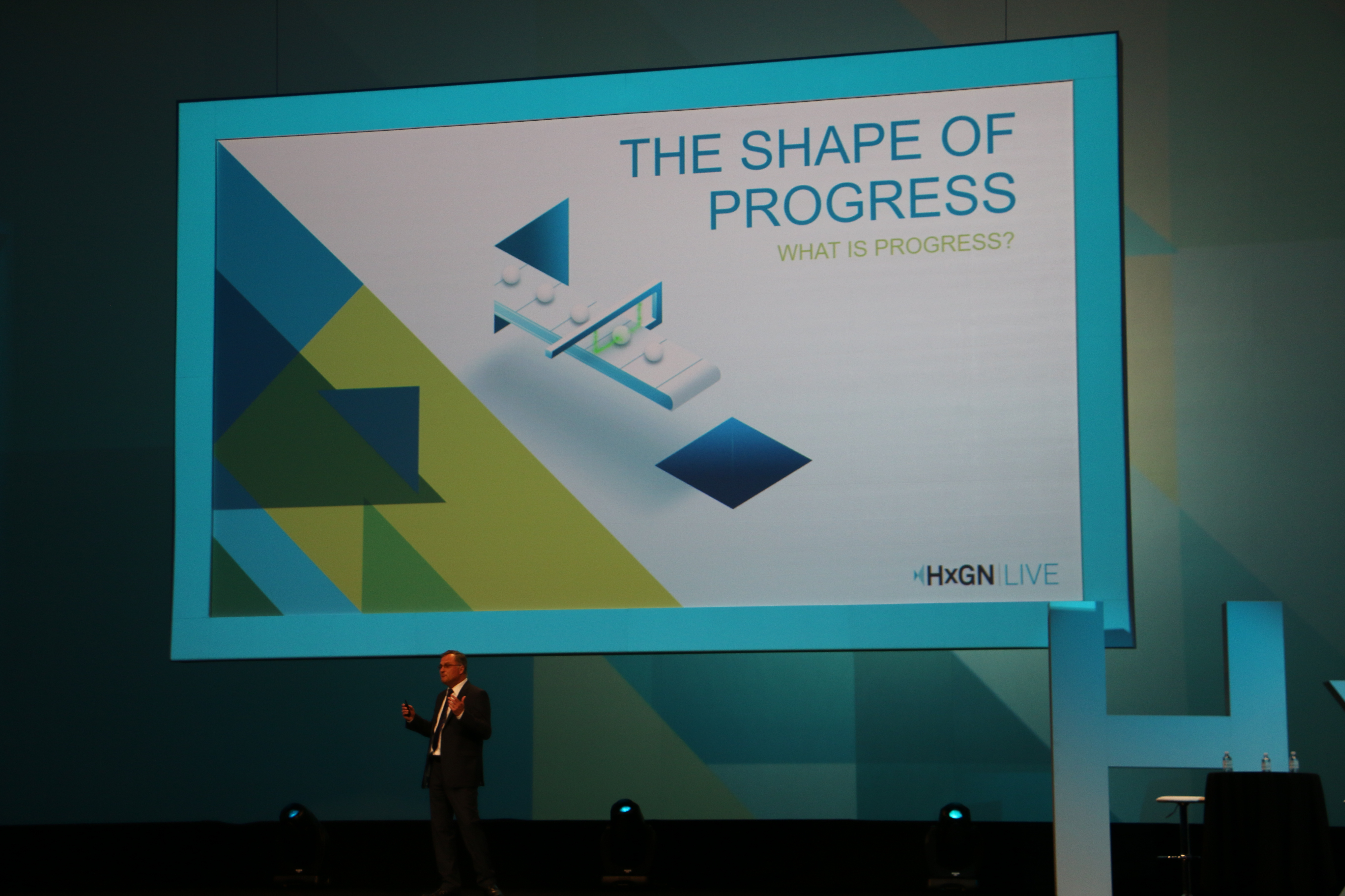 The Shape of Progress at HxGN LIVE