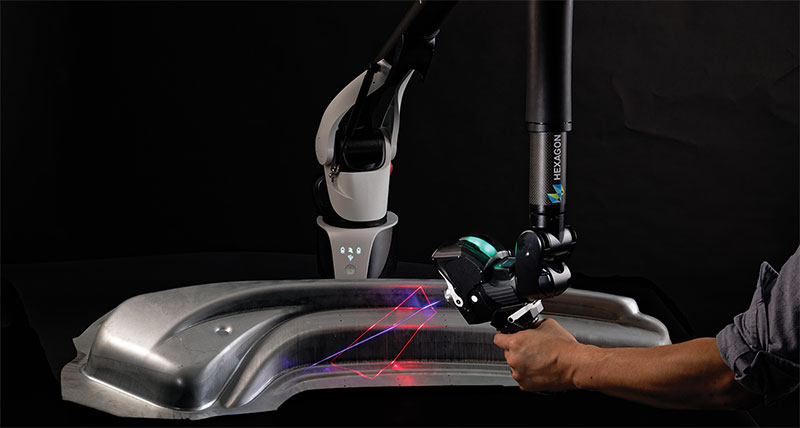 High-Productivity 3D Laser Scanner Comes to Hexagon's Absolute Arm