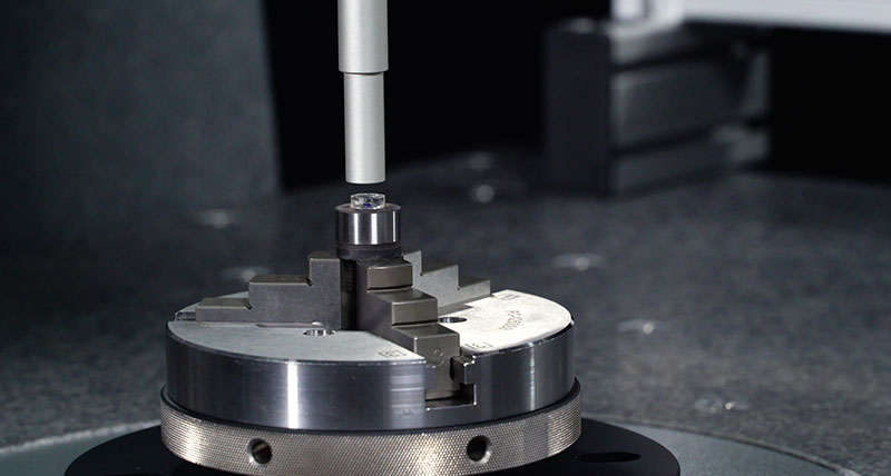 A coordinate measuring machine specifically for small volume  and sub micron inspection tasks