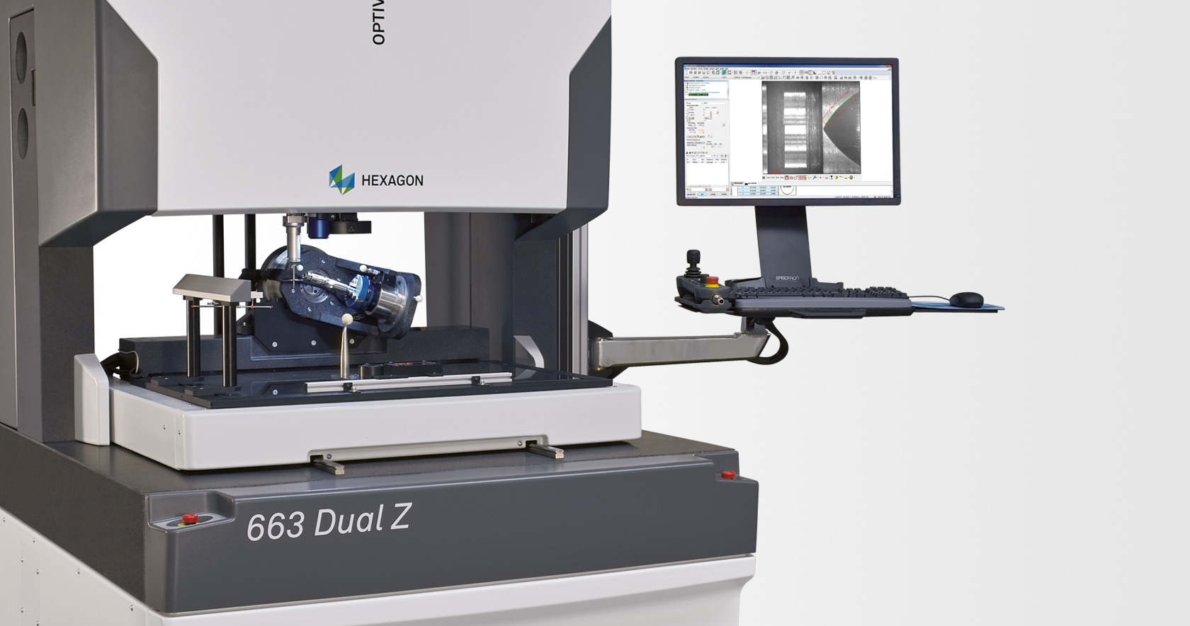Versatile multisensor coordinate measuring machine (CMM)