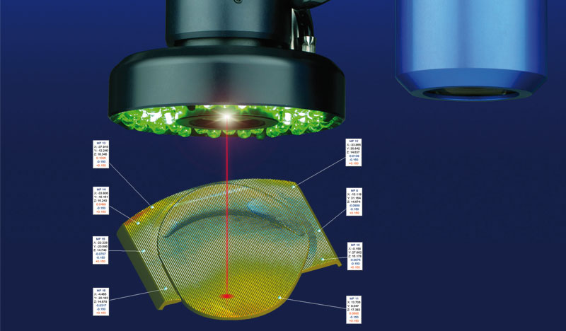 Through-The-Lens laser (TTL laser)
