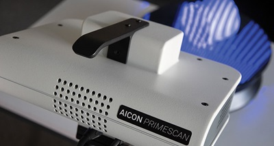 Entry-level structured light scanner PrimeScan