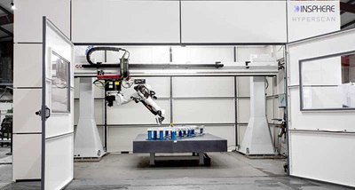 Roboter-based measurement installation at Insphere