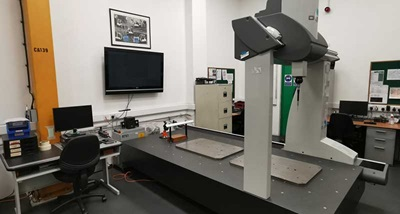 Hyster-Yale's GLOBAL CMM runs with PC-DMIS