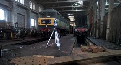 Hexagon's unique laser tracker technology played a key role in rebuilding a lost classic of British railway design