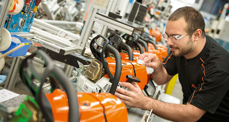 Stihl Production Line