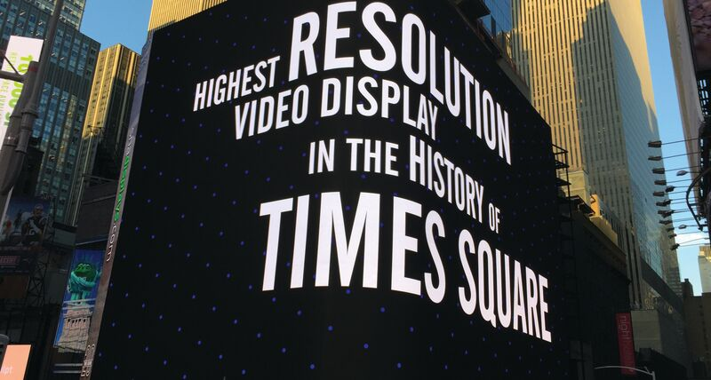 Staying ahead in outdoor highresolution screen technology