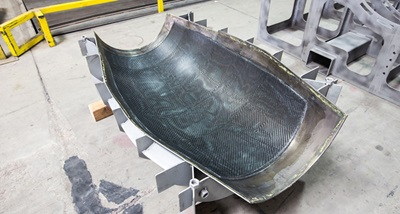 Manufacture of composite aerospace components
