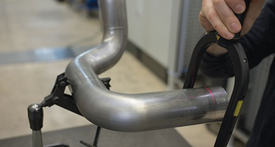Manufacture of automotive exhausts